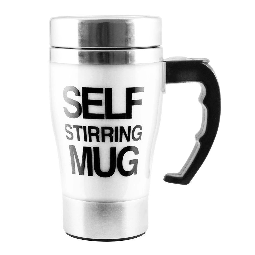 Tall Self Stirring Mug