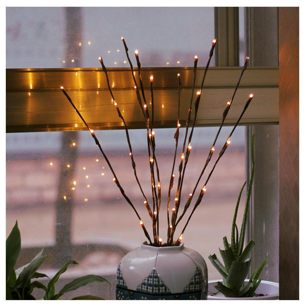 Tree Stems Table Top Light (Pack of 2)