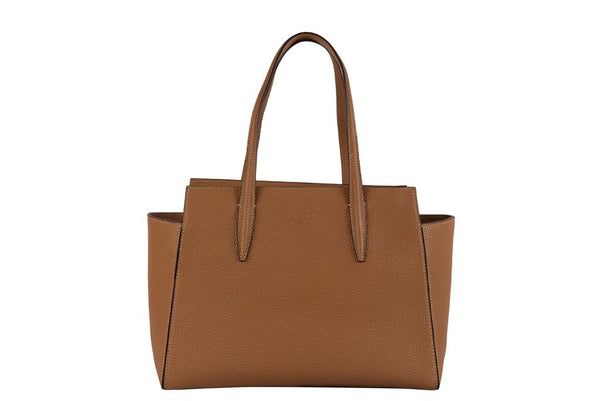 MIRTA Exclusive Tella Tote by FR&D Firenze - Pebbled Brown