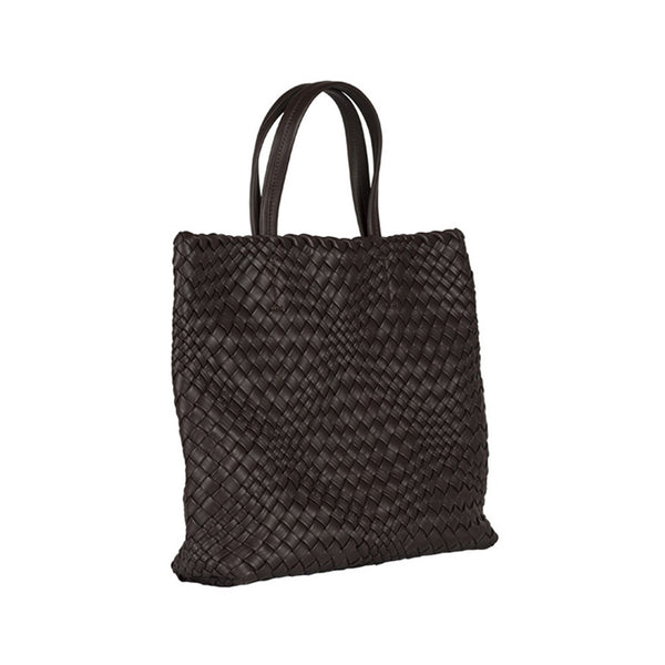 MIRTA Exclusive: Woven Shopper by Piero Via Palagina - Brown