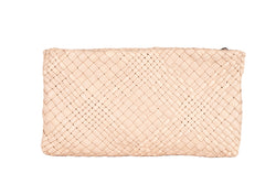 MIRTA Exclusive: Woven Pochette by Piero Via Palagina - Rose