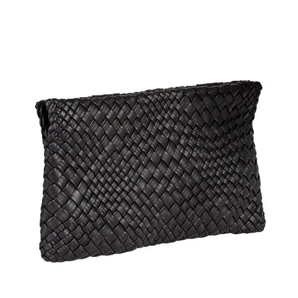 MIRTA Exclusive: Woven Pochette by Piero Via Palagina - Black
