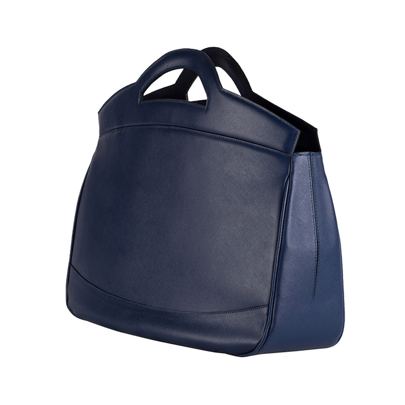 MIRTA Exclusive: Morgana Tote by B.BEN - Blue