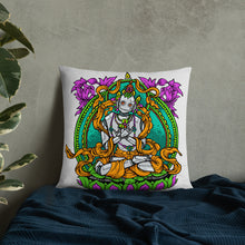 Load image into Gallery viewer, Zen Robot Throw Pillow
