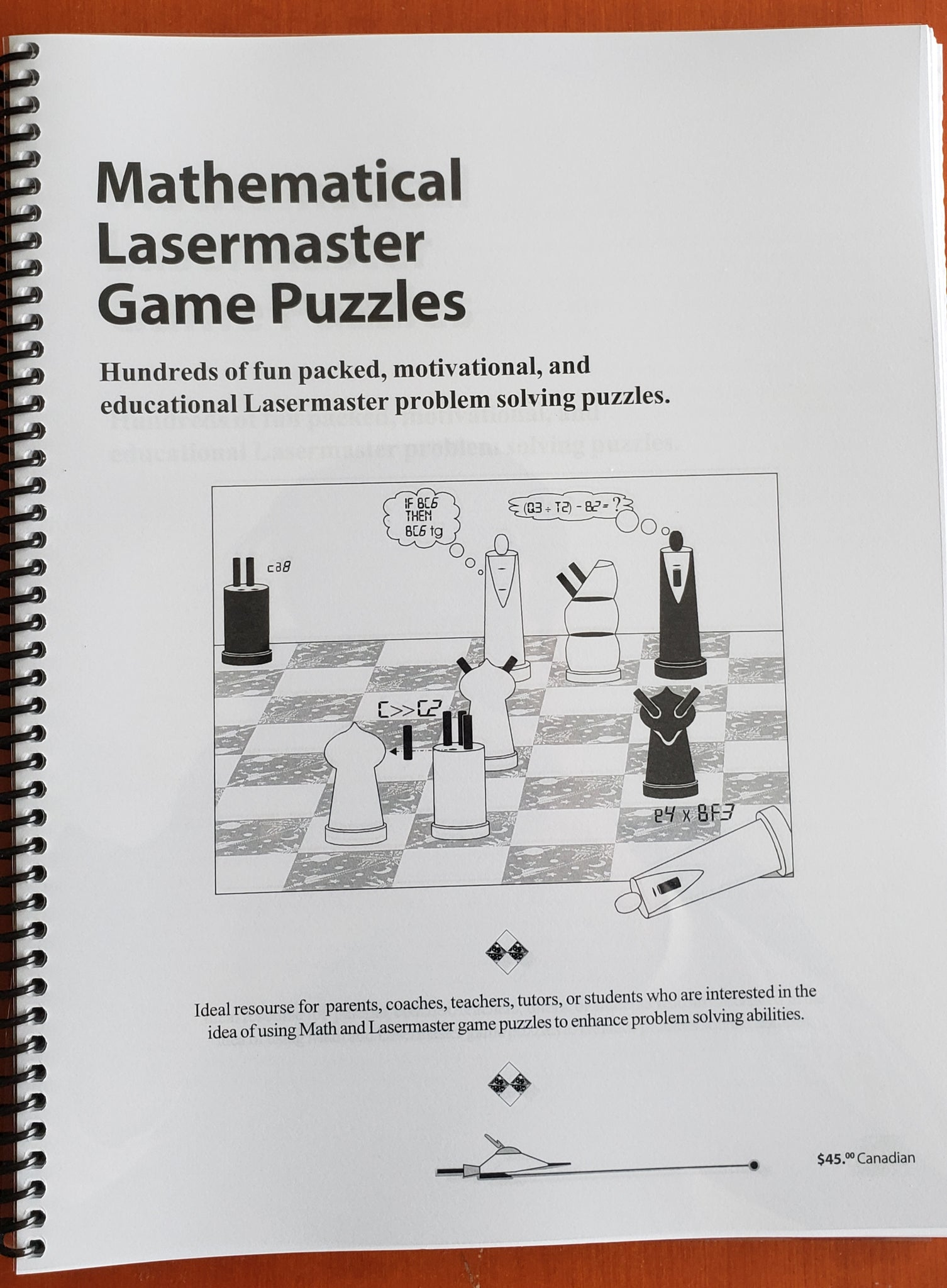 Mathematical Laser Master Game Puzzles