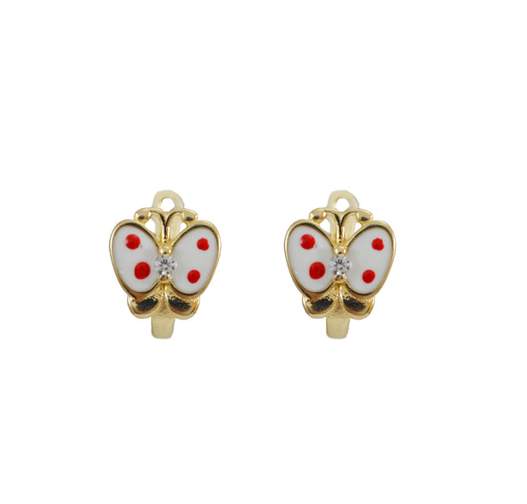 Cercei aur 14 K Wonderful Butterfly