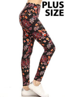 Pretty Paisley Print Leggings