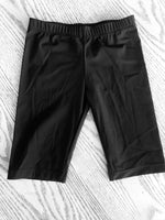 Kids Swim Shorts- Black
