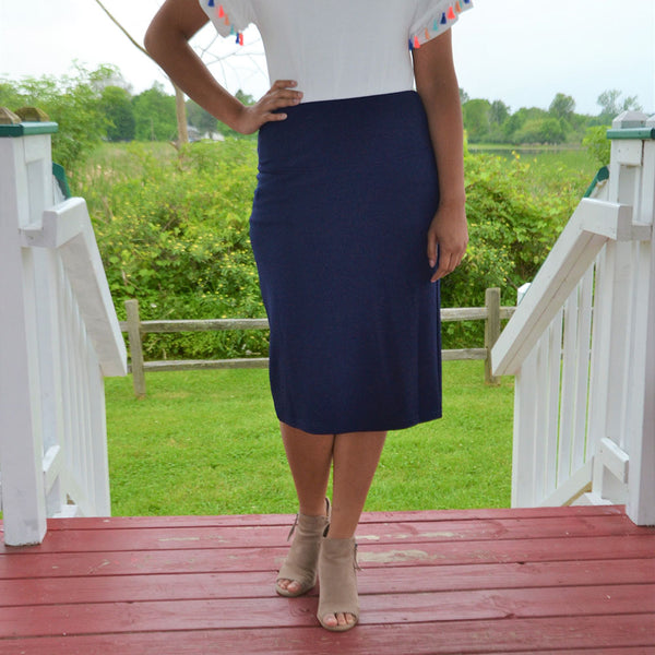 ML Signature Skirt-Blue