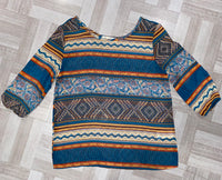 Tribal chiffon blouse- Kids