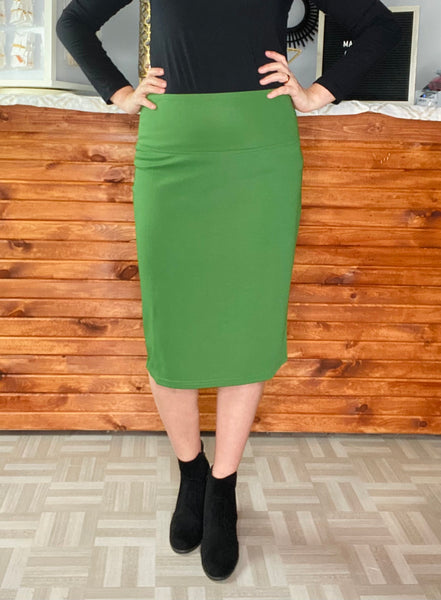 ML Signature Skirt-Green