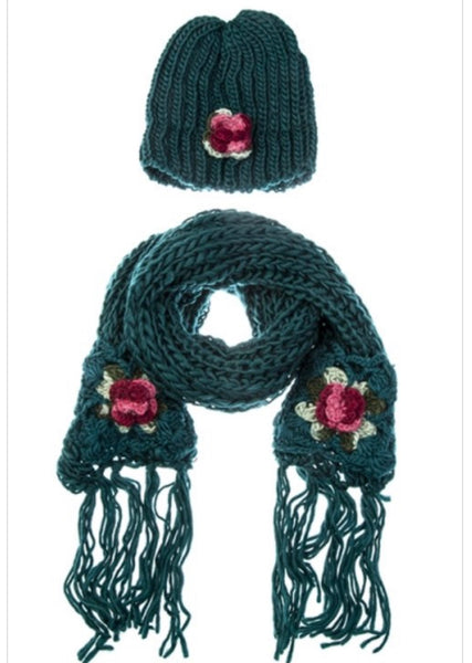 Hat & Scarf Set (more colors)