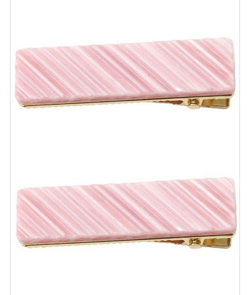 Closed Rectangle Hair clips- several colors