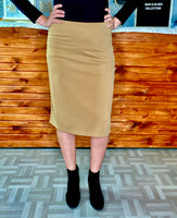 ML Signature Skirt- Khaki