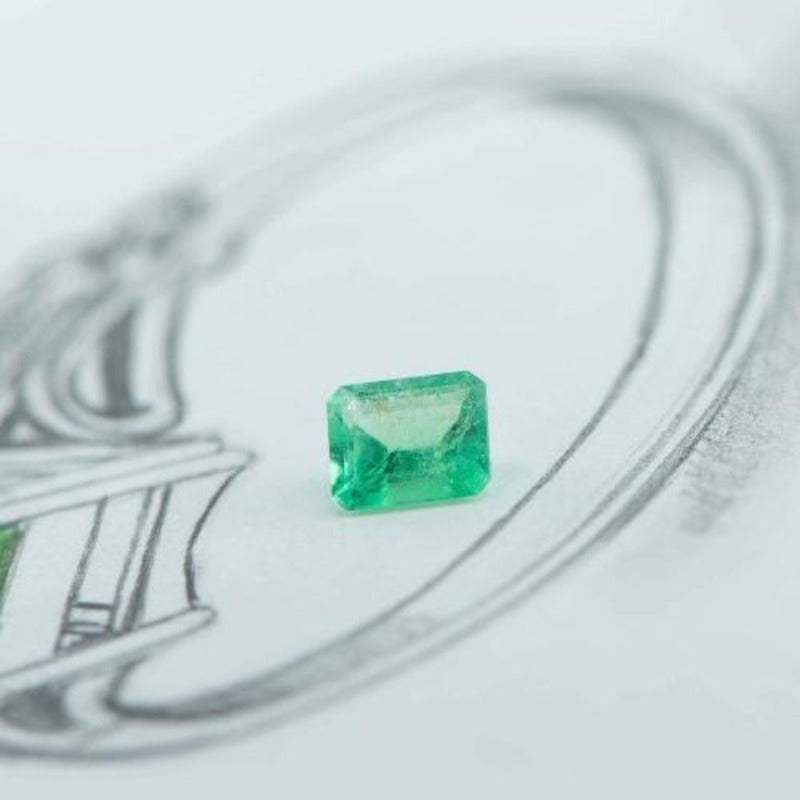 1.55ct loose Emerald - Canterbury Jewellers Shop