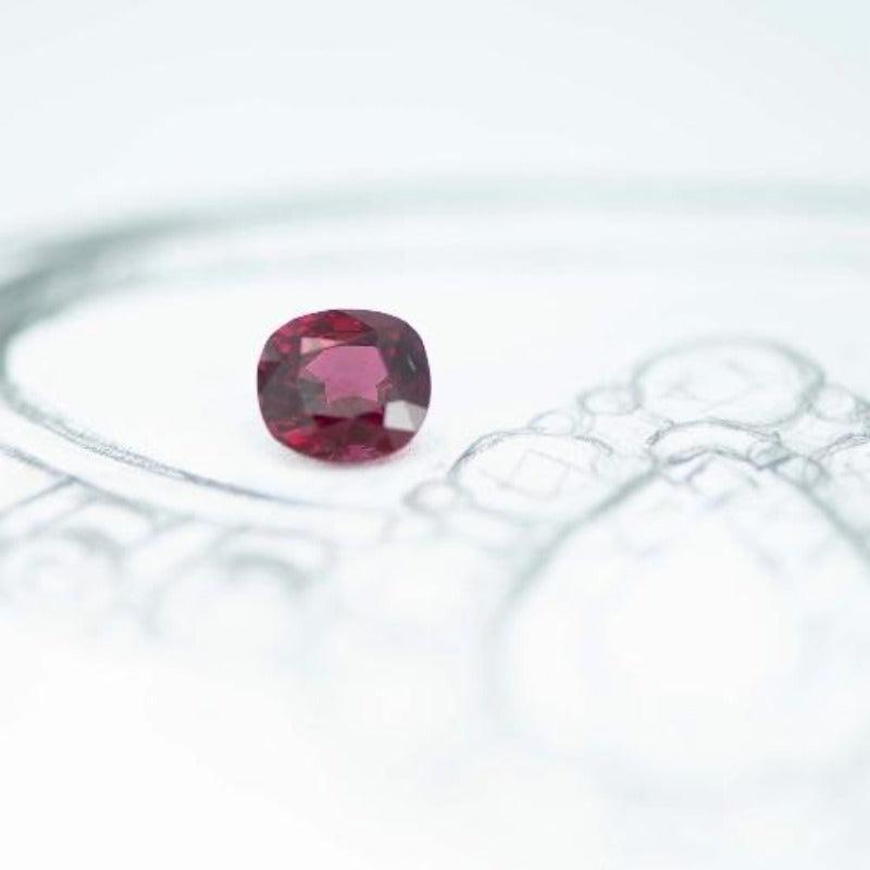 2.13 ct Red Spinel - Canterbury Jewellers Shop