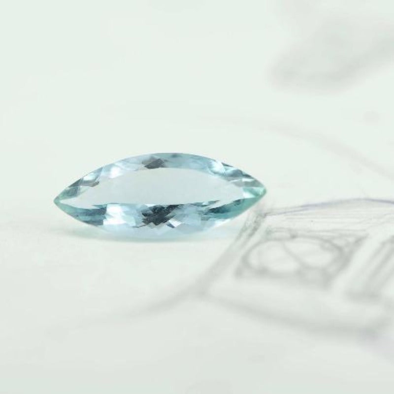 3.37 ct Blue Green Beryl - Canterbury Jewellers Shop