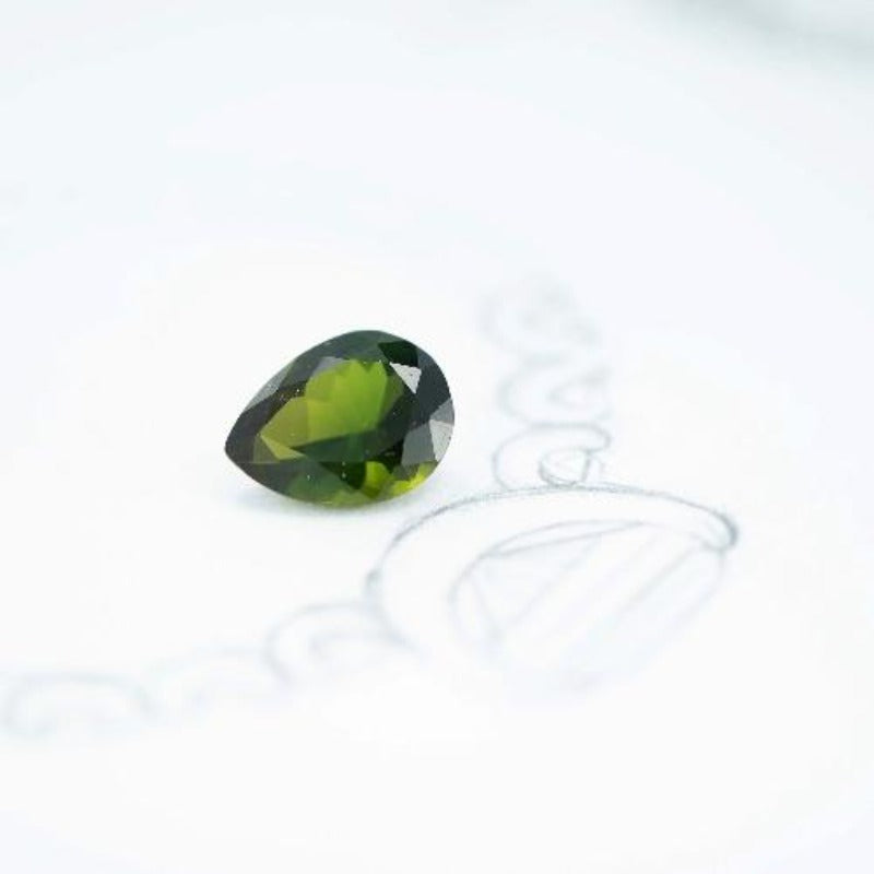 5.76 ct Green Tourmaline - Canterbury Jewellers Shop