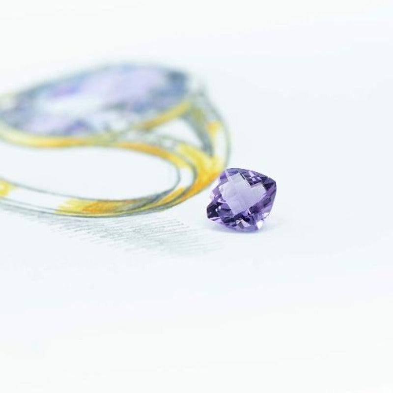 5.78 ct Royal Amethyst - Canterbury Jewellers Shop