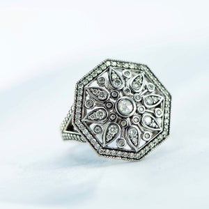 Flower design ring - Canterbury Jewellers Shop