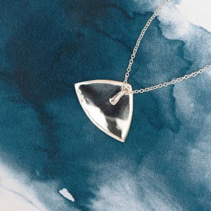 Hill Sterling Silver pendant with natural NZ Paua - Canterbury Jewellers Shop