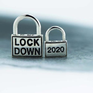Lock down silver pendant only - Canterbury Jewellers Shop