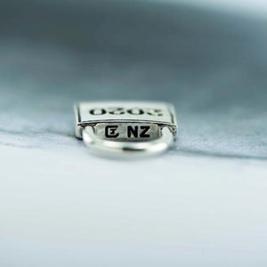 Lock down silver pendant with chain - Canterbury Jewellers Shop NZ