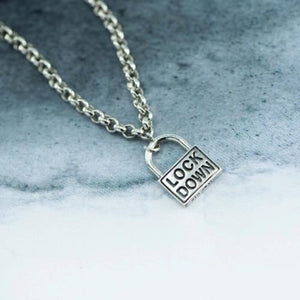 Lockdown Silver charm only - Canterbury Jewellers Shop