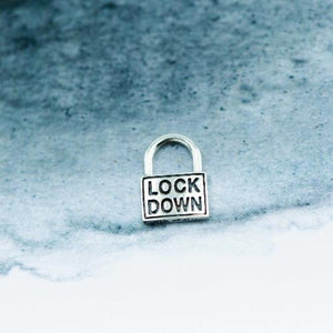 Lockdown Silver charm with bracelet - Canterbury Jewellers Shop