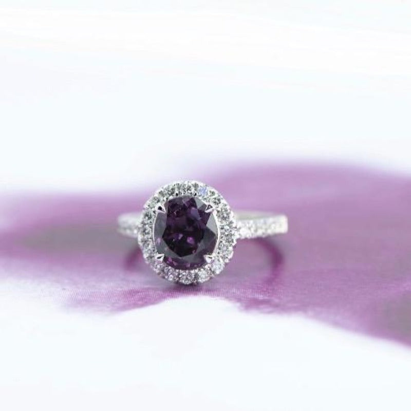 Mystic Purple Spinel ring - Canterbury Jewellers Shop