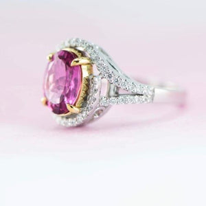 Pretty in Pink ring made in NZ by - Canterbury Jewellers Shop NZ