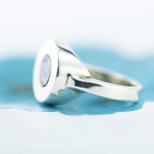 Sterling Silver Paua shell dress ring - Canterbury Jewellers Shop
