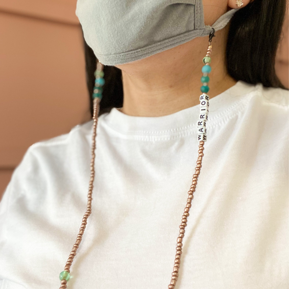WARRIOR MASK CHAIN TEAL