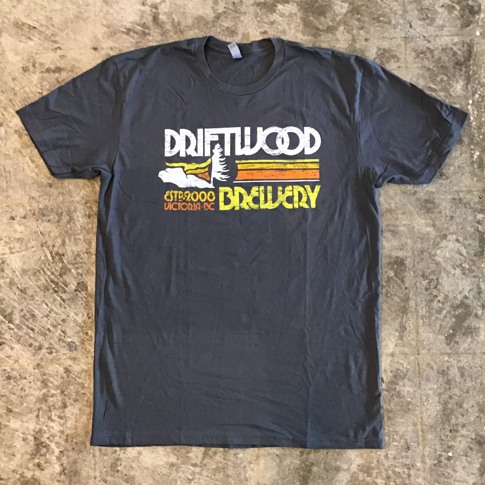 Driftwood-T-Shirt Gray