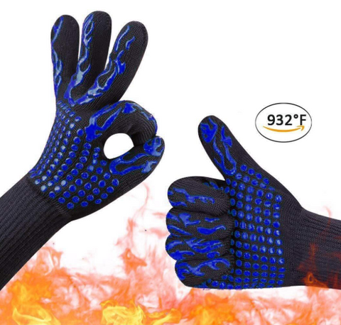 932℉ Extreme Fireproof Gloves