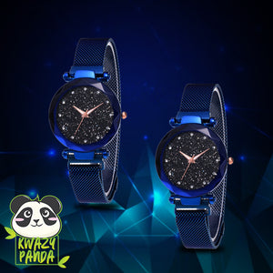 Cosmic Luxe Quartz Watch