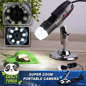 Super Zoom HD Microscope Camera