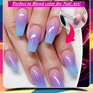 FancyHue Gradient Nail Art Paint Brush