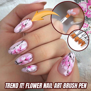 Nailed It! Flower Nail Art Brush Pen