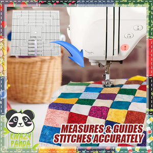 EZQuilt Free-Motion Garment Ruler Set