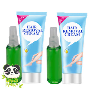 Spray & Wipe Painless Hair Removal Treatment