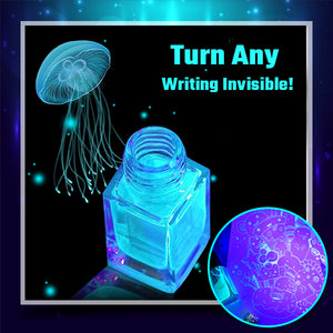 Wizard Invisible UV Ink Set