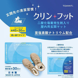 日本製 TOAMIT Virus Shut Out Mat 除菌地墊
