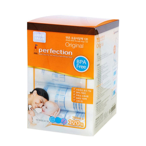 JACO PERFECTION 母乳儲奶袋 200ML 120PCS