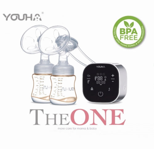 Youha優合 The ONE Youha The ONE Breastpump 電動奶泵套裝 泵奶機