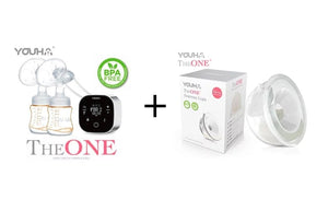 Youha優合 The One 奶泵 + Youha Express Cup 套裝 The One BreastPump + Express Cup Set