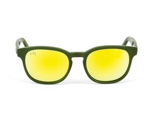 INCUS army green/ gold mirrored