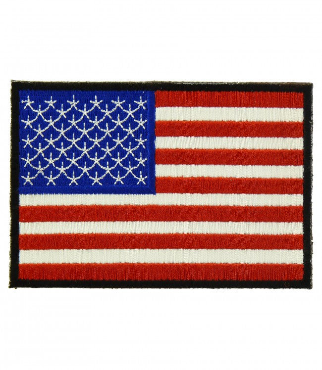 """AMERICAN FLAG"" 3"" x 2"" WOVEN PATCH, ACCESSORIES"