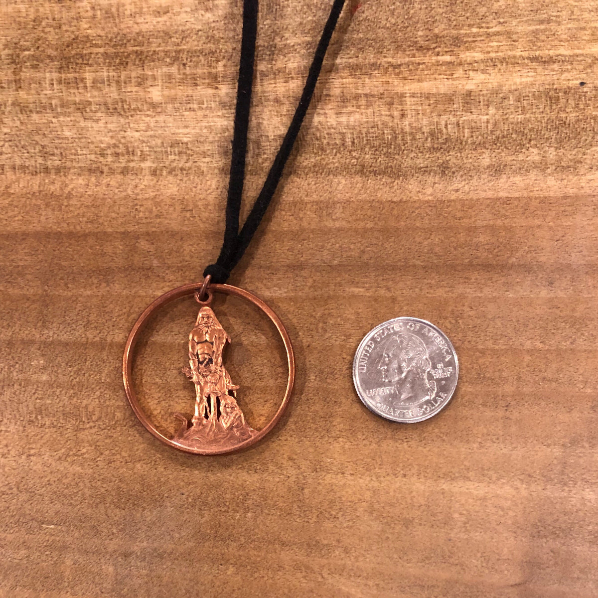 "A TSY Hand-Cut + Frank Frazetta Conan The Barbarian"" Pendant Necklace, Jewelry ~FINAL SALE!"