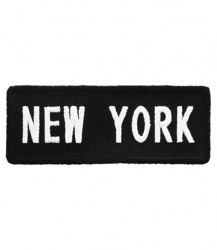 "A ""NEW YORK"" WOVEN PATCH, ACCESSORIES"